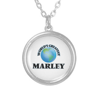 World's Greatest Marley Round Pendant Necklace