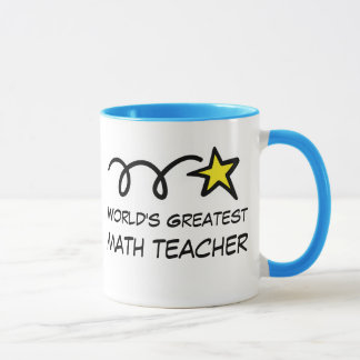 World's Greatest Math Teacher - Coffee Mug gift