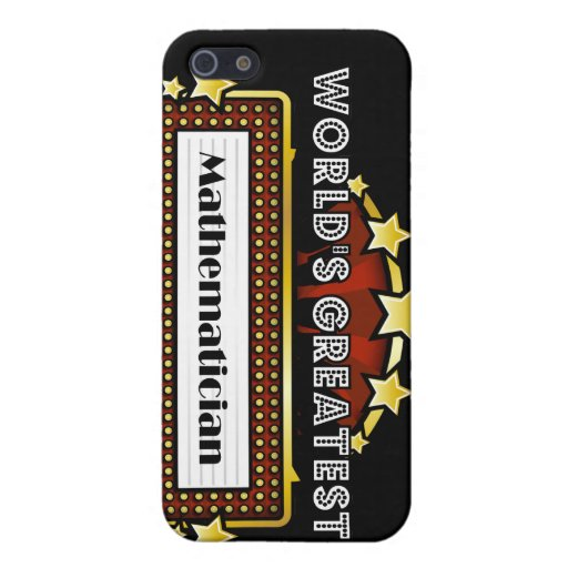 World's Greatest Mathematician Covers For iPhone 5