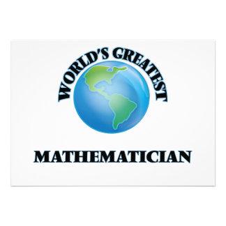 World's Greatest Mathematician Cards