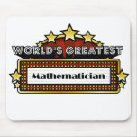 World's Greatest Mathematician Mouse Pad