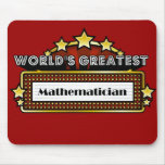 World's Greatest Mathematician Mouse Pads