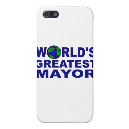 World's Greatest Mayor iPhone 5/5S Covers