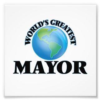 World's Greatest Mayor Art Photo