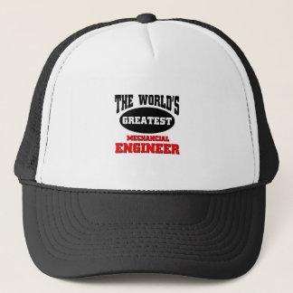 World's greatest Mechancial engineer Trucker Hat