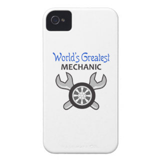 WORLDS GREATEST MECHANIC iPhone 4 Case-Mate CASES