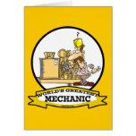WORLDS GREATEST MECHANIC MEN  CARTOON CARDS