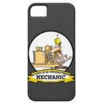 WORLDS GREATEST MECHANIC MEN  CARTOON iPhone 5 CASES