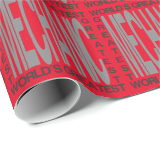 Worlds Greatest Mechanic Wrapping Paper