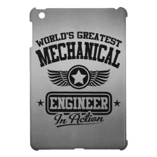 World's Greatest Mechanical Engineer In Action iPad Mini Covers