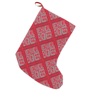 Worlds Greatest Mechanical Engineer Small Christmas Stocking