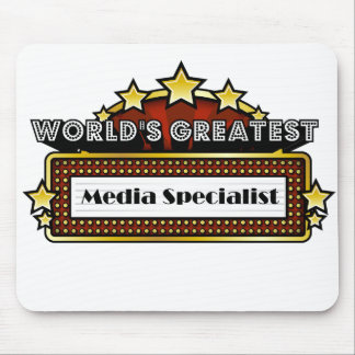 World's Greatest Media Specialist Mouse Pad