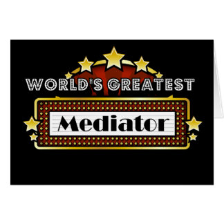 World's Greatest Mediator Card