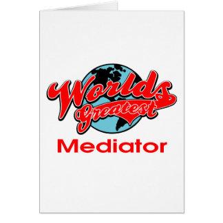 World's Greatest Mediator Card