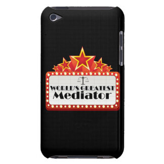 World's Greatest Mediator iPod Touch Case-Mate Case