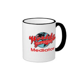World's Greatest Mediator Ringer Mug
