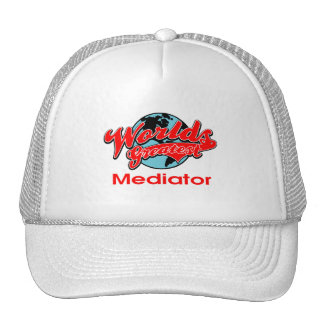 World's Greatest Mediator Trucker Hat