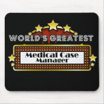 World's Greatest Medical Case Manager Mouse Pad