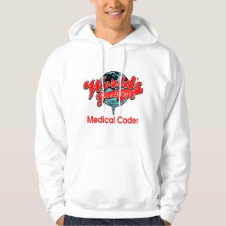 World's Greatest Medical Coder Hoodie