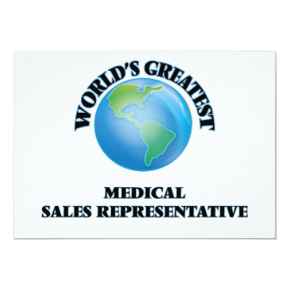 World's Greatest Medical Sales Representative Cards