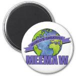 World's Greatest MeeMaw Refrigerator Magnets