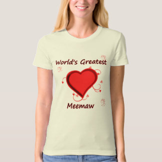 World's Greatest meemaw T-Shirt