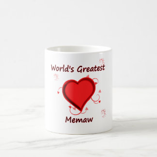 World's Greatest Memaw Coffee Mug