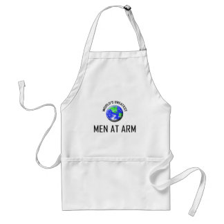 World's Greatest Men At Arm Apron