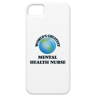 World's Greatest Mental Health Nurse iPhone 5 Cover