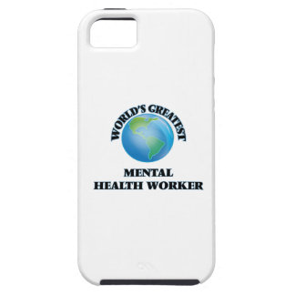 World's Greatest Mental Health Worker iPhone 5 Cover