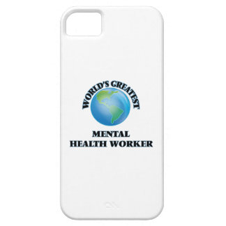 World's Greatest Mental Health Worker iPhone 5/5S Covers
