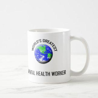 World's Greatest Mental Health Worker Mug