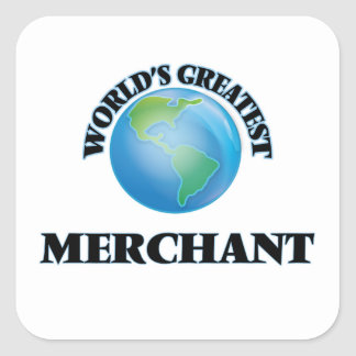 World's Greatest Merchant Square Sticker