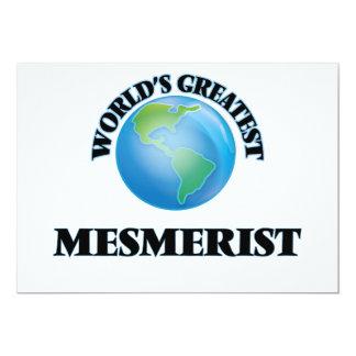 "World's Greatest Mesmerist 5"" X 7"" Invitation Card"