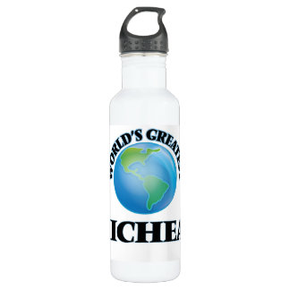 World's Greatest Micheal 24oz Water Bottle