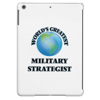World's Greatest Military Strategist iPad Air Covers
