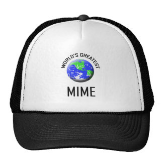 World's Greatest Mime Mesh Hats