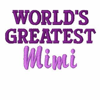 World's Greatest Mimi Embroidered Jacket