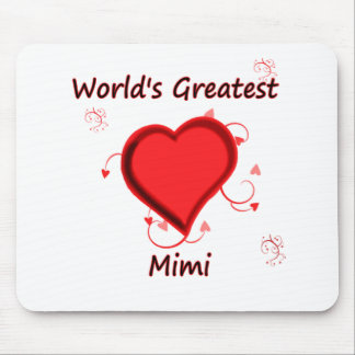 World's Greatest mimi Mouse Pad