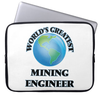 World's Greatest Mining Engineer Computer Sleeves