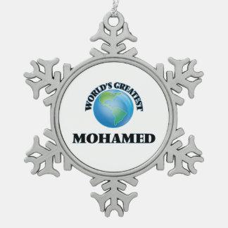 World's Greatest Mohamed Ornament