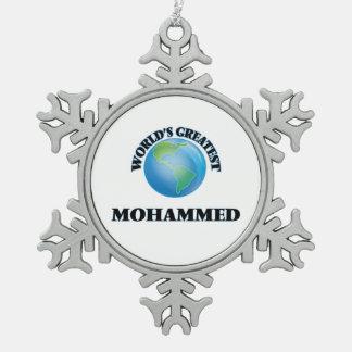 World's Greatest Mohammed Ornament