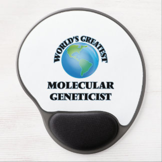 World's Greatest Molecular Geneticist Gel Mouse Pad