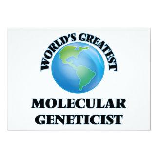 World's Greatest Molecular Geneticist Personalized Invitation