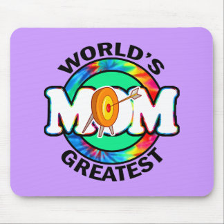 World's Greatest Mom; Archery Mouse Pad