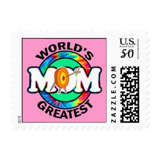 World's Greatest Mom; Archery Postage