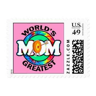 World's Greatest Mom; Archery Postage Stamp