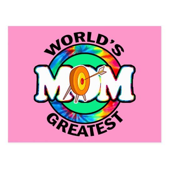 World's Greatest Mom; Archery Postcard
