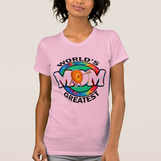 World's Greatest Mom; Archery T-Shirt