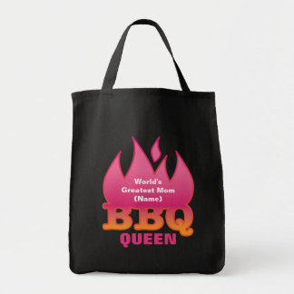 World's Greatest Mom BBQ QUEEN Tote Bag